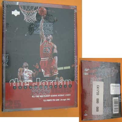 Upper Deck Jordan Championship Commemorative Cards NIP