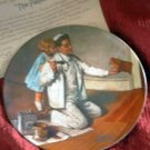 'The Painter' Norman Rockwell LMT ED Collector Plate
