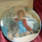 'Annie & Sandy' Bradford Exchange LMT ED Collector Plate