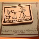 Labrador Lab Retriever Cavern Canine Dog Breed Stoneware Ceramic Clay Jewelry Pin McCartney - NEW
