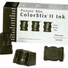 Genuine Xerox ColorStix II Black Laser Printer Ink