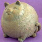 Tubby CAT Novelty Animal SILICONE Candle Soap Resin Plaster Cement MOLD