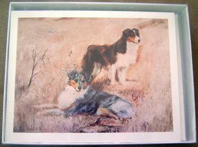 Australian Shepherd #1 Dog Notecards Envelopes Set - Maystead - NEW