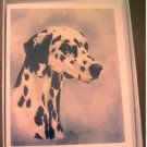 Dalmation #2 Dog Notecards Envelopes Set - Maystead - NEW