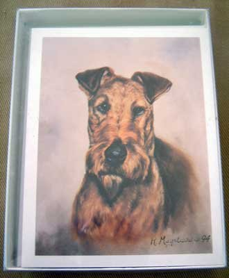 Irish Terrier #1 Dog Notecards Envelopes Set - Maystead - NEW