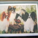 Papillion #5 Dog Notecards Envelopes Set - Maystead - NEW