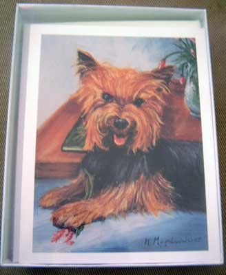 Yorkie Yorkshire Terrier #7 Dog Notecards Envelopes Set - Maystead - NEW