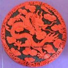 DRAGON Round Stone SILICONE Candle Soap Resin Plaster Cement MOLD