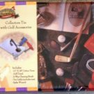 Golf Collector Tin w/ Accessories - NIP Great Gift!