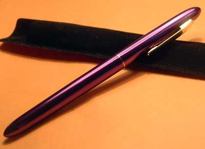 Purple Capped Luxury Writing Pen GIFT Pouch Imprintable NEW!