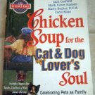 Book Chicken Soup for the Cat & Dog Lover's Soul