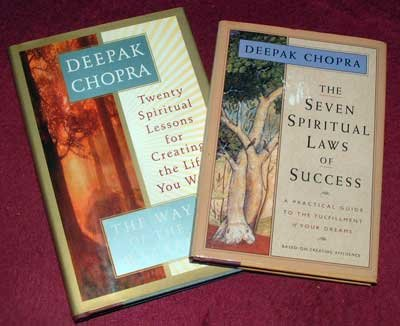Deepak Chopra : 7 Spiritual Laws & Way of the Wizard