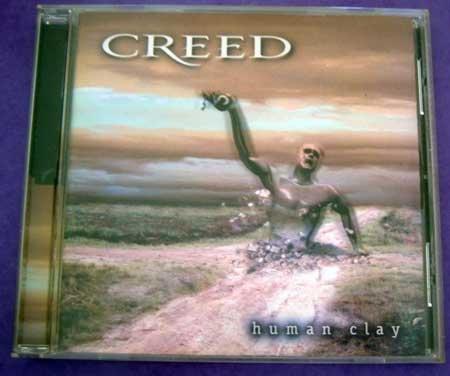 MUSIC CD Creed Human Clay EUC