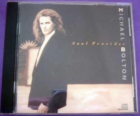 MUSIC CD Michael Bolton Soul Provider EUC