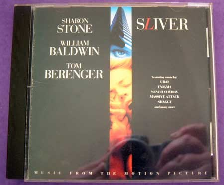 MUSIC CD Sliver Movie Soundtrack Various Artists EUC