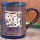 Whippet Cavern Canine Dog Breed Ceramic Clay Mug Cup McCartney - NEW