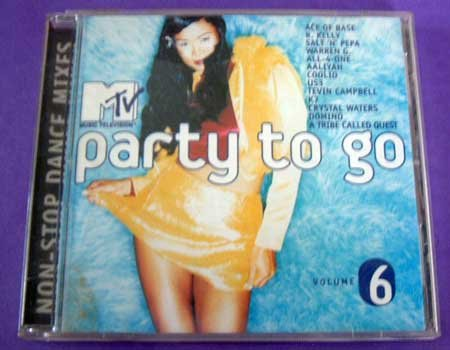 MUSIC CD MTV Party To Go Various Artists EUC