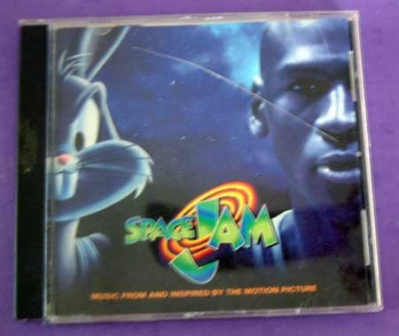 MUSIC CD Space Jam Various Artists EUC