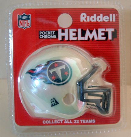 Miniature Football Team Helmet NIP WHITE