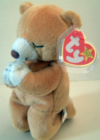 Ty Beanie Beenie Baby HOPE BEAR Retired Collectible