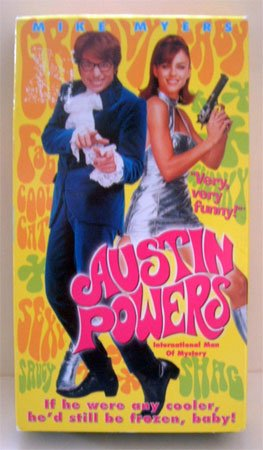 VHS Movie Austin Powers International Man Of Mystery