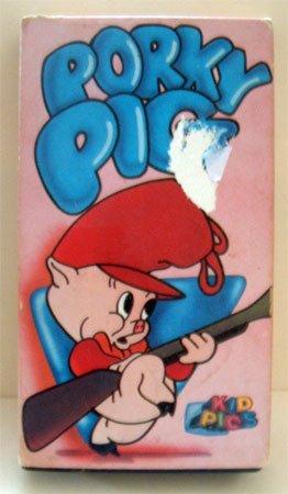 VHS Movie Porky Pig Cartoon
