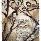 Jody BERGSMA Art Card Print : Here Birdie, Birdie!