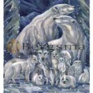 Jody BERGSMA Art Card Print : All Things Bright and Beautiful