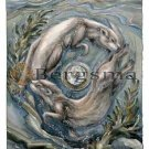 Jody BERGSMA Art Card Print : One Good Turn Deserves An Otter!
