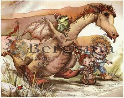 Jody BERGSMA Art Card Print : The Greatest Success is to Live Life Your Own Way