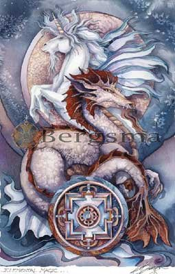 Jody BERGSMA Art Card Print : Elemental Magic