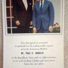 VINTAGE PHOTOGRAPH 12 : President Reagan & Bush Publicity Photo