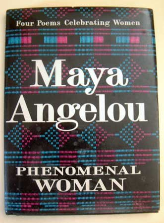 Maya Angelou Phenomenal Woman Poem EUC Book