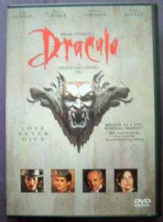 DVD Movie DRACULA Bram Stoker's Horror Love Story