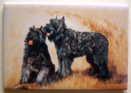 Dog Breed Full Backed Quality Magnet - Maystead - NEW BDF1