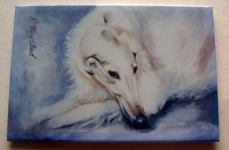 Dog Breed Full Backed Quality Magnet - Maystead - NEW BRZ4