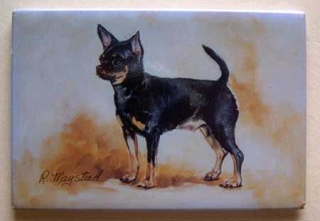 Dog Breed Full Backed Quality Magnet - Maystead - NEW CHI6