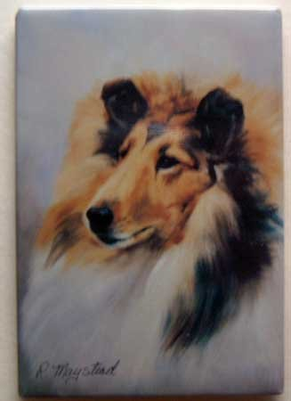 Dog Breed Full Backed Quality Magnet - Maystead - NEW COL3