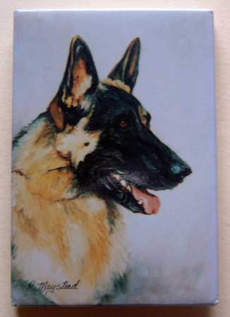 Dog Breed Full Backed Quality Magnet - Maystead - NEW GSH4
