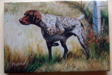 Dog Breed Full Backed Quality Magnet - Maystead - NEW GSP6