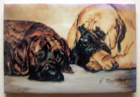 Dog Breed Full Backed Quality Magnet - Maystead - NEW MAS1