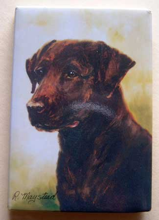 Dog Breed Full Backed Quality Magnet - Maystead - NEW RLA10