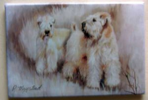Dog Breed Full Backed Quality Magnet - Maystead - NEW SCW3
