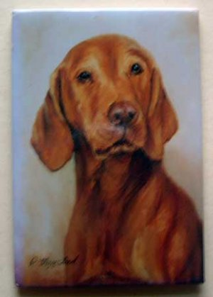 Dog Breed Full Backed Quality Magnet - Maystead - NEW VIZ6