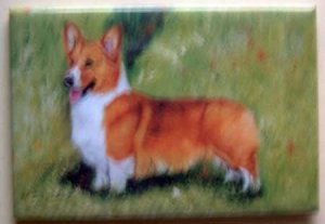 Dog Breed Full Backed Quality Magnet - Maystead - NEW WEC8