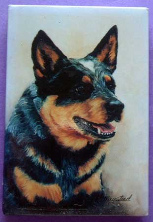 Dog Breed Full Backed Quality Magnet - Maystead - NEW ACD4