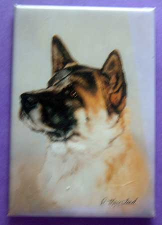 Dog Breed Full Backed Quality Magnet - Maystead - NEW AKI1
