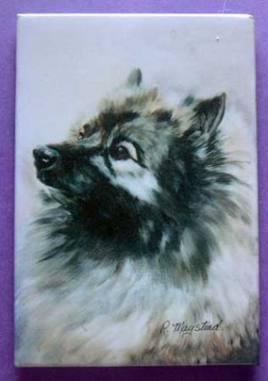 Dog Breed Full Backed Quality Magnet - Maystead - NEW KEE2