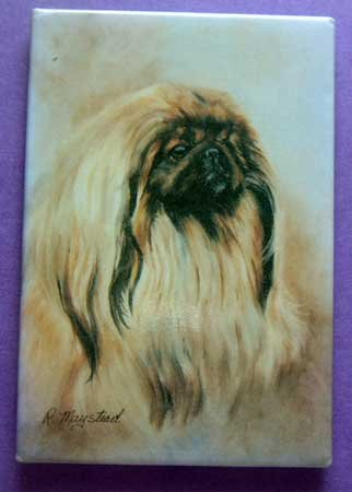 Dog Breed Full Backed Quality Magnet - Maystead - NEW PEK2