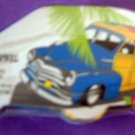 Woody Car Surf Board Magic Towel
